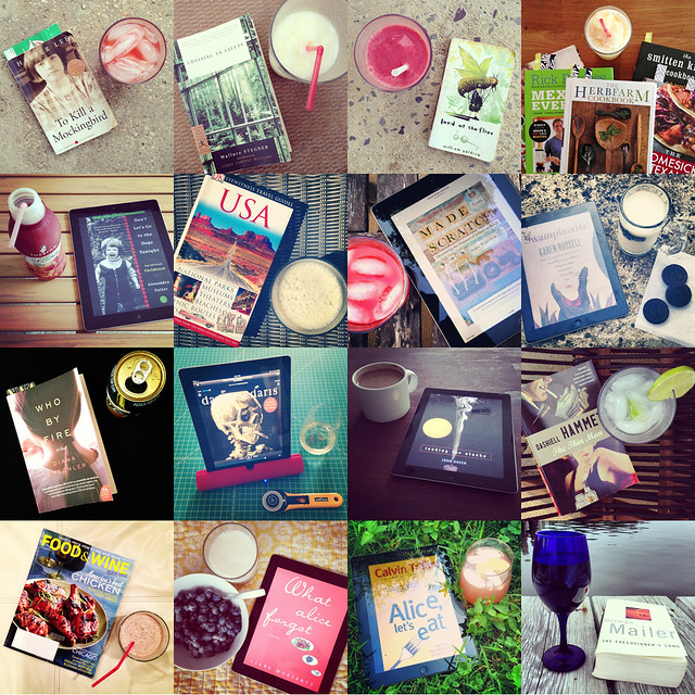 #booksandbeverages - summer 2013