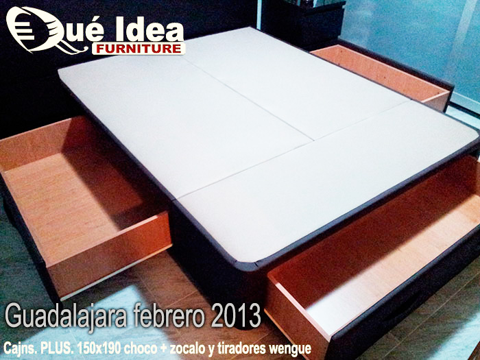 cama con cajones Guadalajara