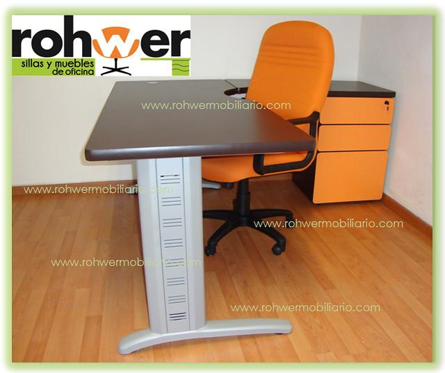 Modulo secretarial rohwer mod 03 muebles de oficina sillas for Muebles de oficina orts