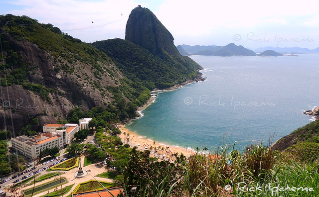 Rio de Janeiro - Pão de Açucar & Praia Vermelha  - Sugar Loaf & Vermelha (Red) Beach