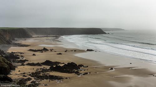 ocean sea beach wales landscapes rocks pembrokeshire marloessands blinkagain