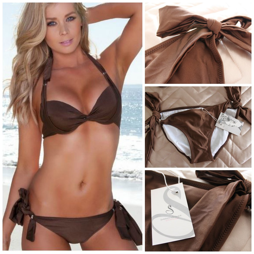 Sheridyn Fisher Swim SheridynSwim swimwear bikini set separates push up coverage sexy pretty australian beauty review ausbeautyreview blog blogger style experience beach wear experience angel model