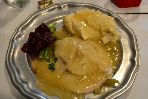 Roast Turkey and Mashed Potatoes