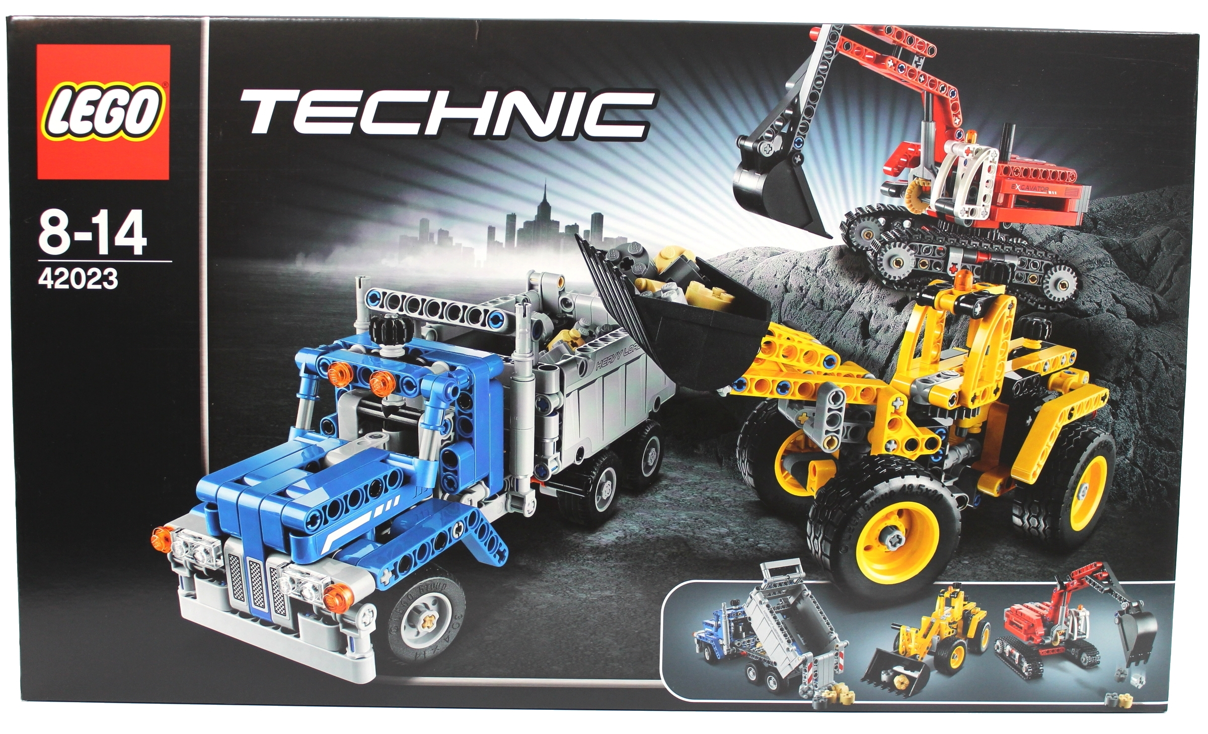 Boris bricks lego technic 42023 construction crew review - Jeux de construction lego technic ...