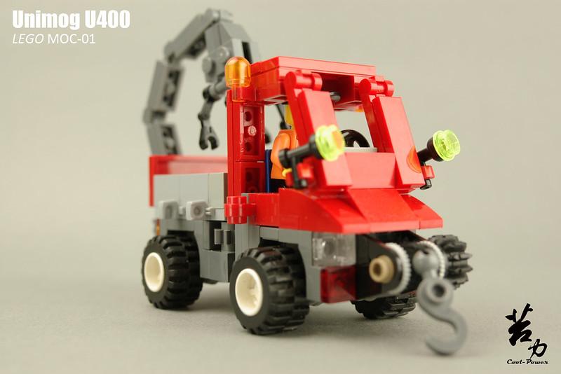 Lego Unimog U400-0001