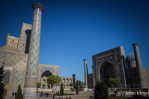 The Registan - centre of old Samarkand