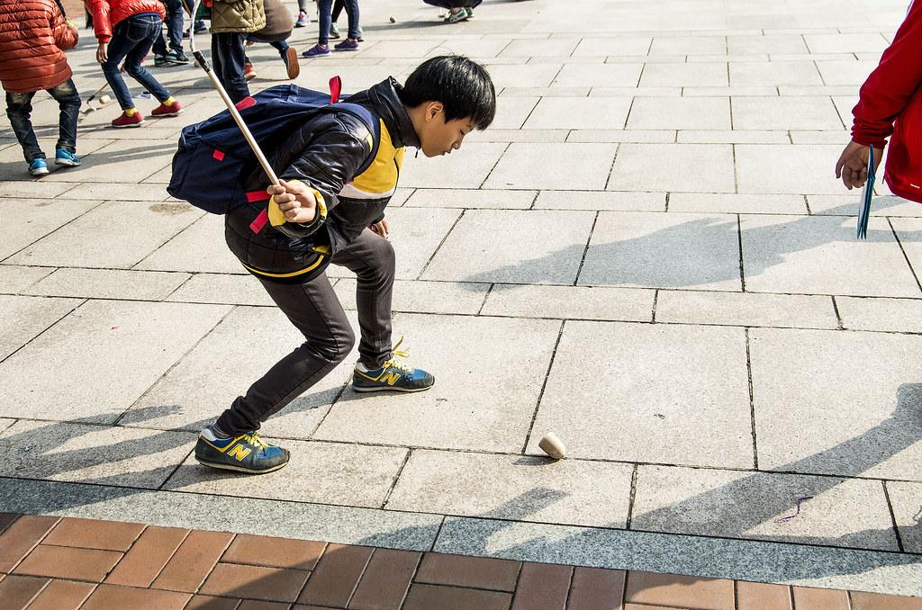 第一次的韓國行