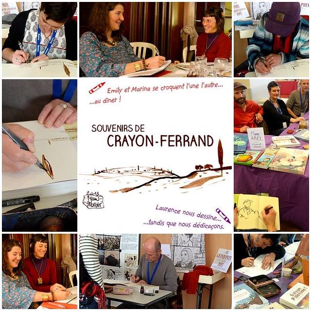 par Véronique Massenot - Souvenir de Crayon Ferrand