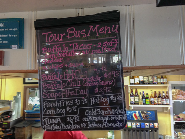Catalina Island Airport in the Sky Buffalo Menu