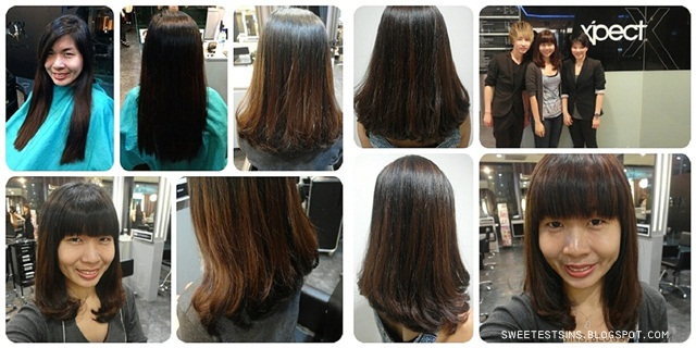 xpect studio perm color before and after