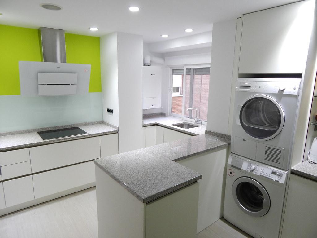 Poner lavadora y secadora en torre stunning colocar un - Mueble lavadora secadora ...