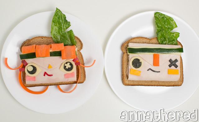 Non-bento #50: atoi & iota turkey sandwich