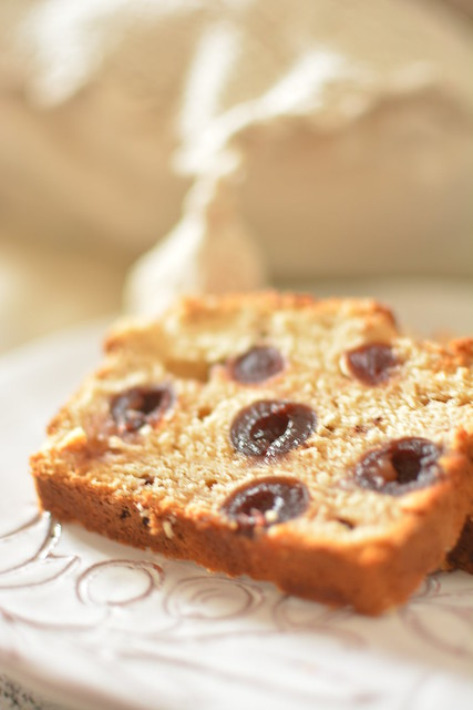 Pane Dolce allo Yogurt e Cocco con Amarene, Cioccolato e Vaniglia