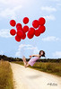 Red Balloons by Lindy Lewan