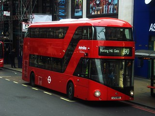 Metroline LT105, Route 390, Marble Arch