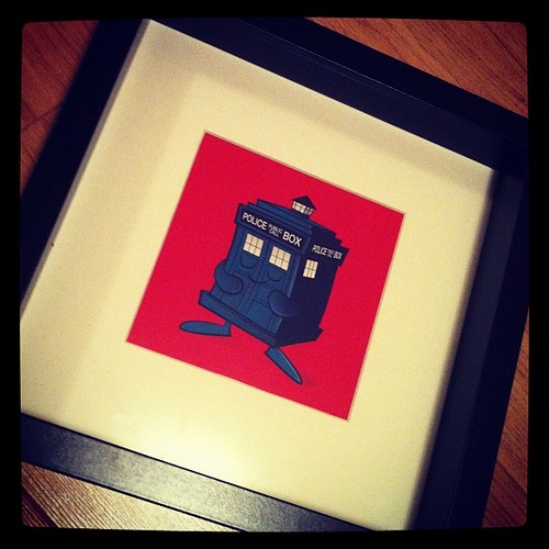 Tardis all framed up by [rich]