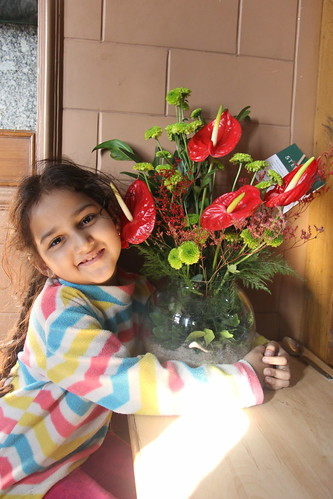 Marziya Wishes Me On My Birthday by firoze shakir photographerno1