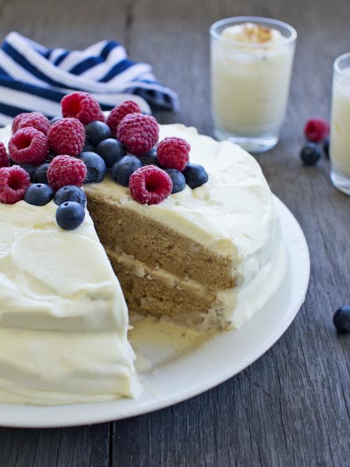 Eggnog Tres Leches Cake - Spicyicecream