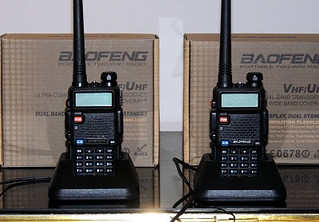 BaoFeng Ham Radio Initial Charge