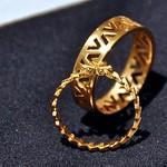 24 Caret Gold Rings
