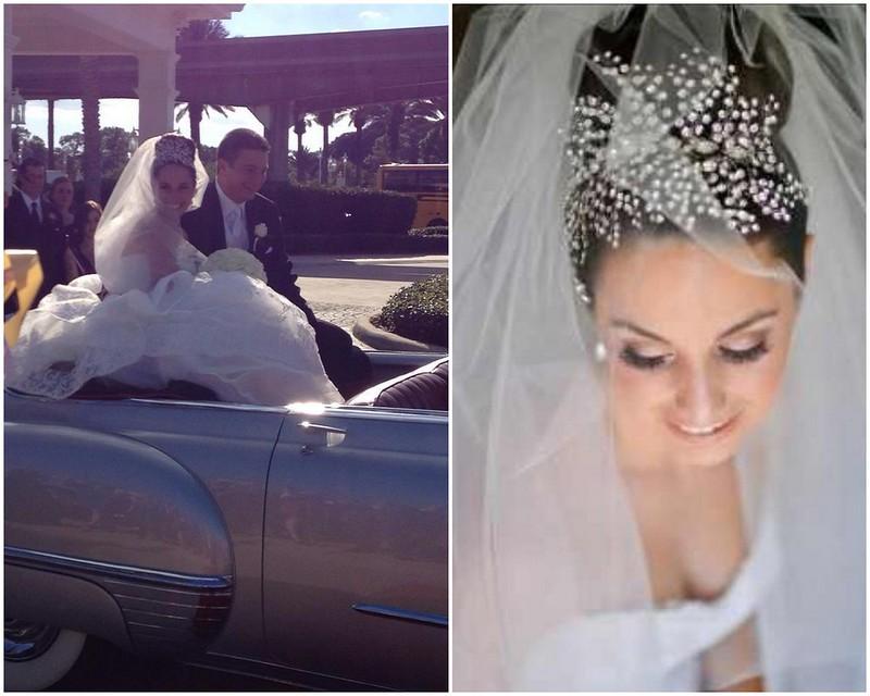 Susan- crystal spray headpiece- Bridal Styles Boutique
