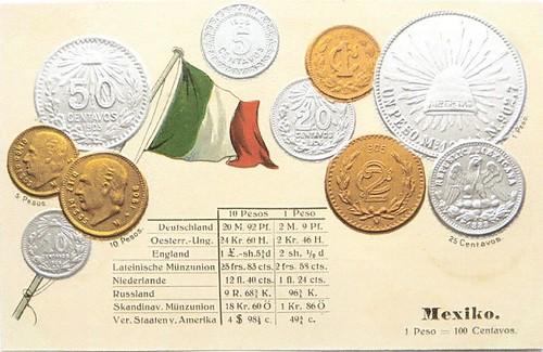 Mexico Coin Card obv -DE