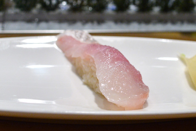 Sea Bream yuzu salt