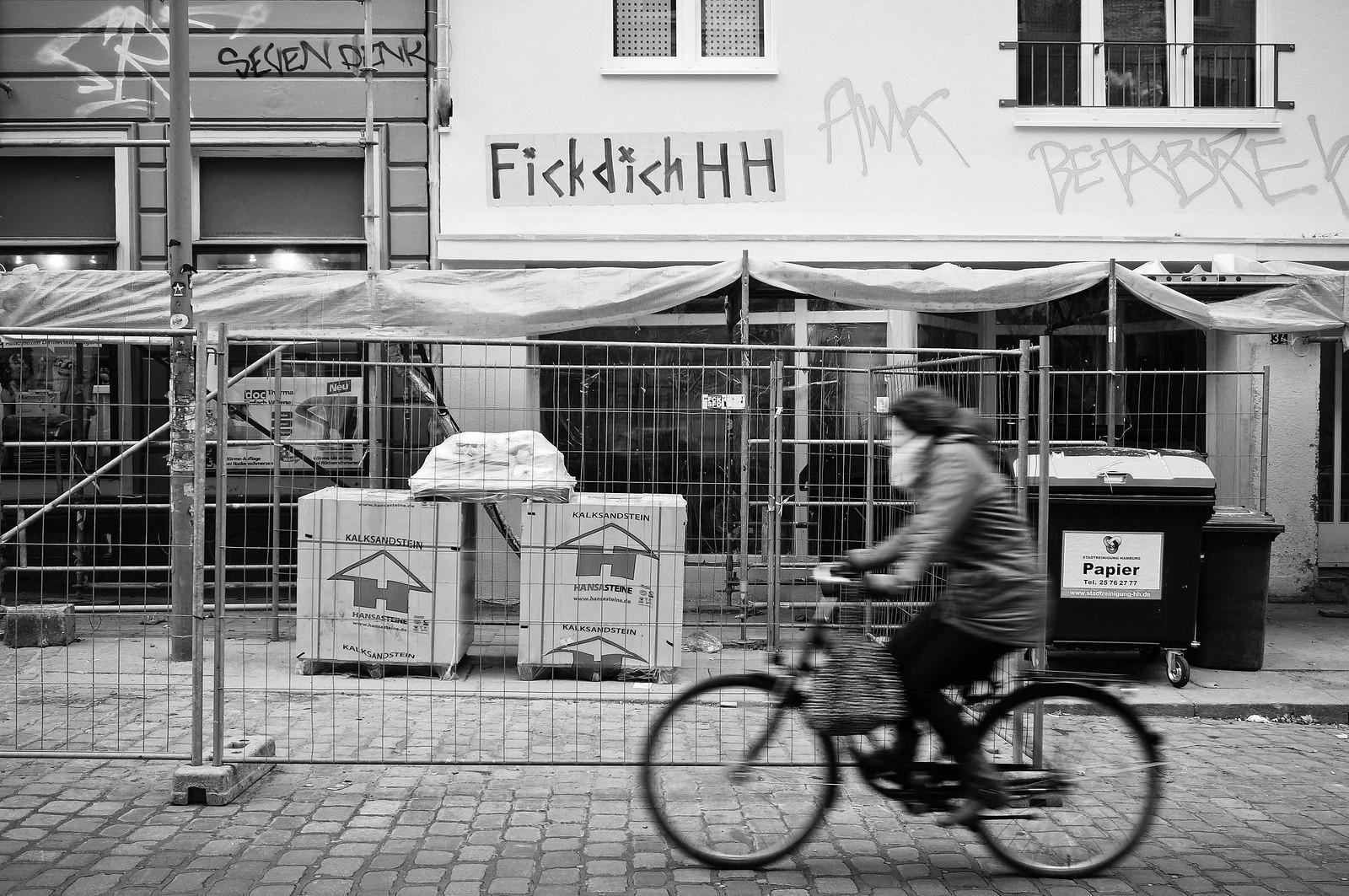 Streetfotografie Weise Wände