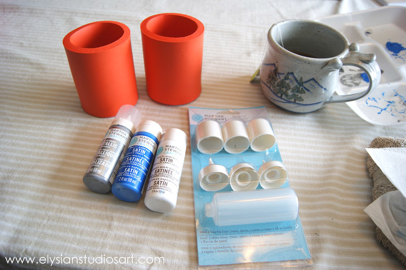 Using Martha Stewart Writing Nozzle Set
