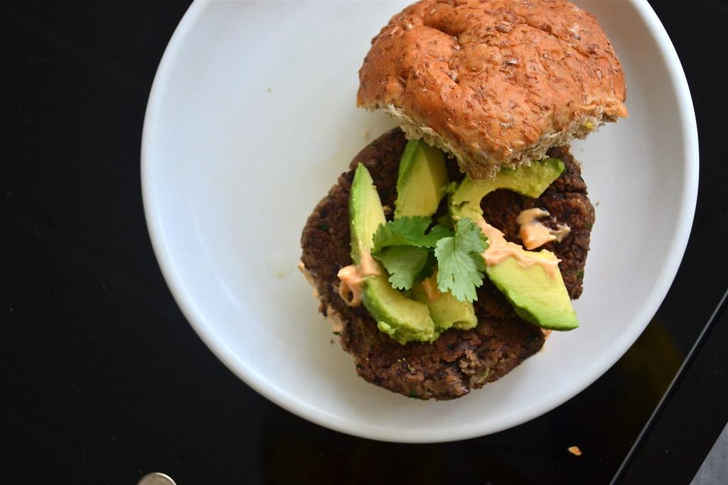 Parisa Soraya - Black Bean Burgers