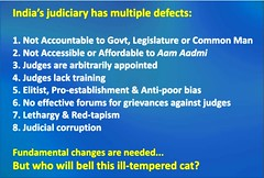 Judiciary multiple defects
