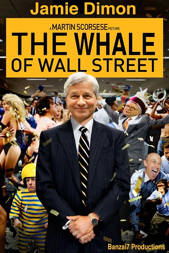 THE WHALE OF WALL STREET by WilliamBanzai7/Colonel Flick