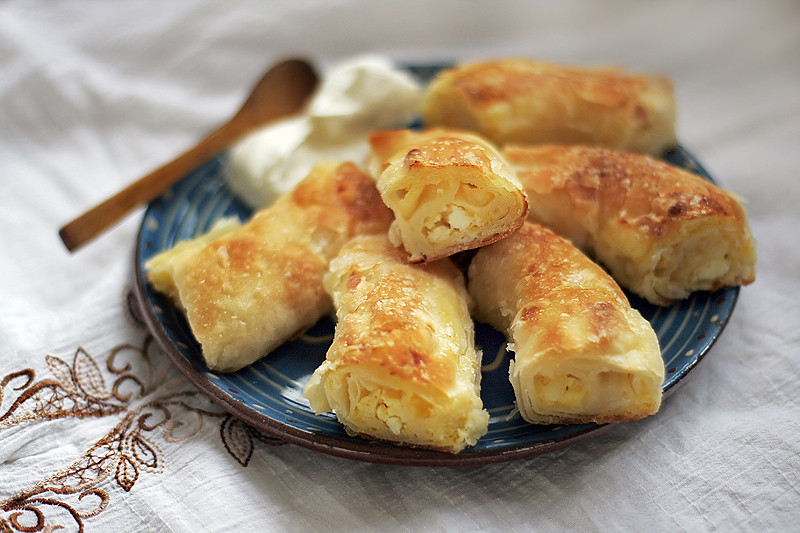 Gibanica or Banica - Serbian Pastry by Tanjica Perovic