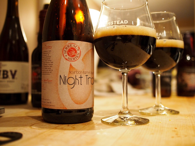 Oso Bourbon Barrel Aged Night Train Porter