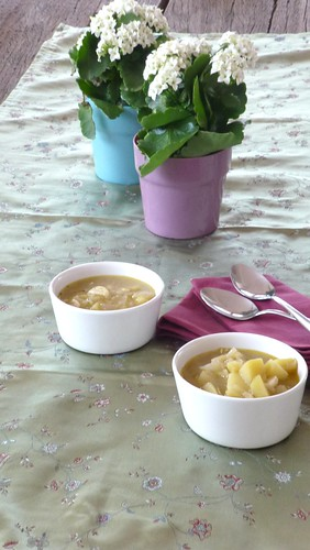 Česnečka -Czech Garlic Soup