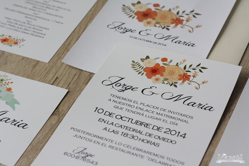 Invitacion Bouquet