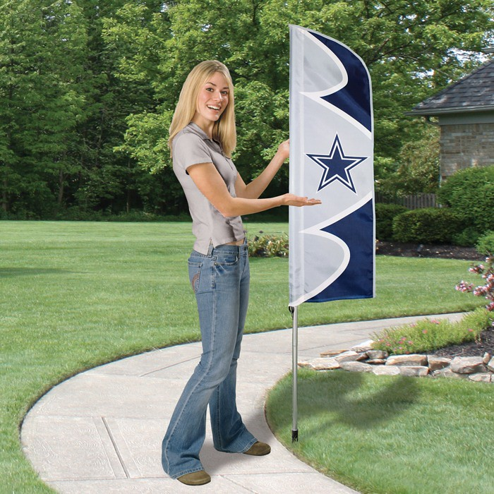 Dallas Cowboys Short Feather Flag
