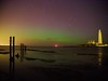 The Aurora Borealis at Whitley Bay, UK