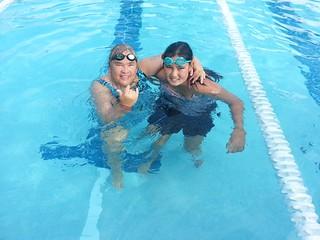 swim and fin