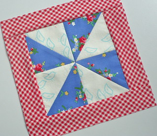 Pinwheel for Gypsy QAL
