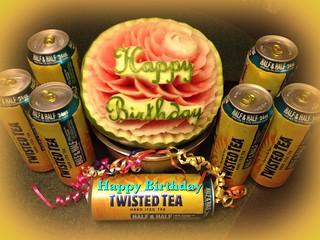 Happy Birthday Twisted Tea