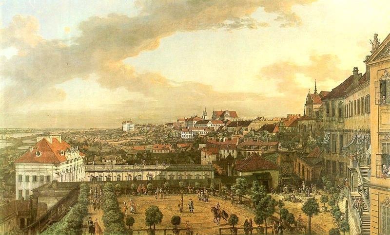 十八世纪华沙风景画5
