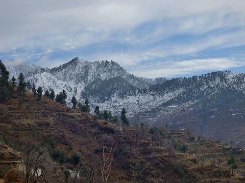 On the way back from Malam Jabba in the Swat Valley, Khyber Pakhtunkhwa Province, Pakistan - March 2014
