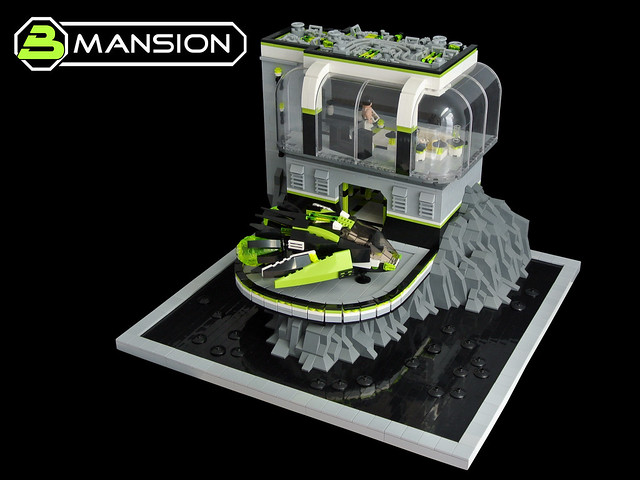 Blacktron Mansion