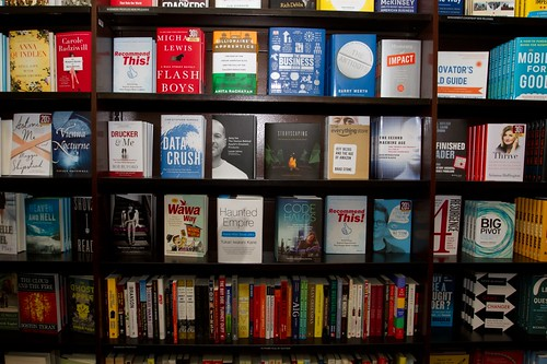 """""""Code Halos: How the Digital Lives of People, Things, and Organizations are Changing the Rules of Business"""" on the shelves of Barnes & Noble!"""