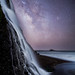 Alamere Falls Milky Way by Rick Whitacre