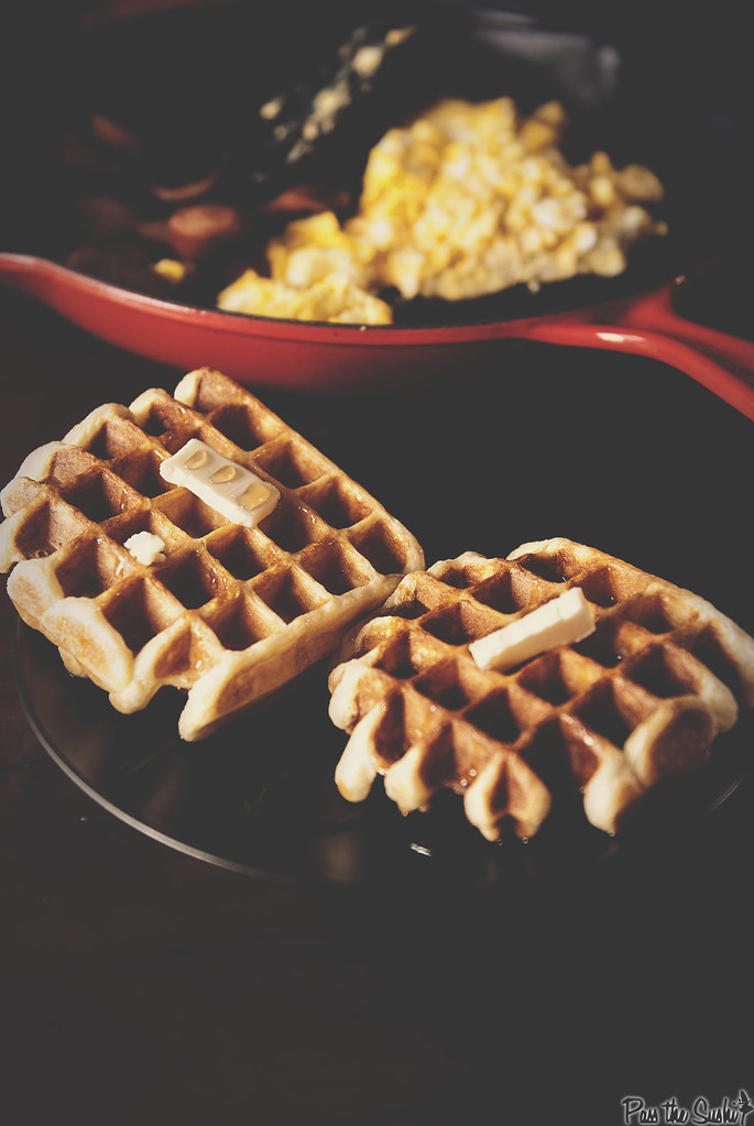 Simple Sunday Morning Waffle Recipe