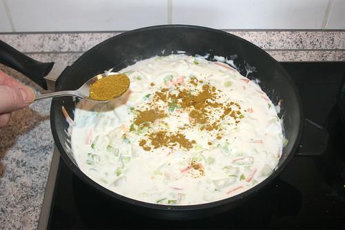 41 - Curry einstreuen / Season with curry