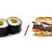 Sushis versus Hamburgers by losy