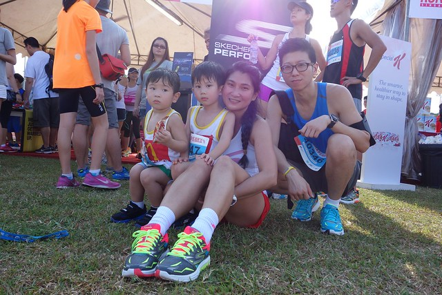A family that runs together, stays together!